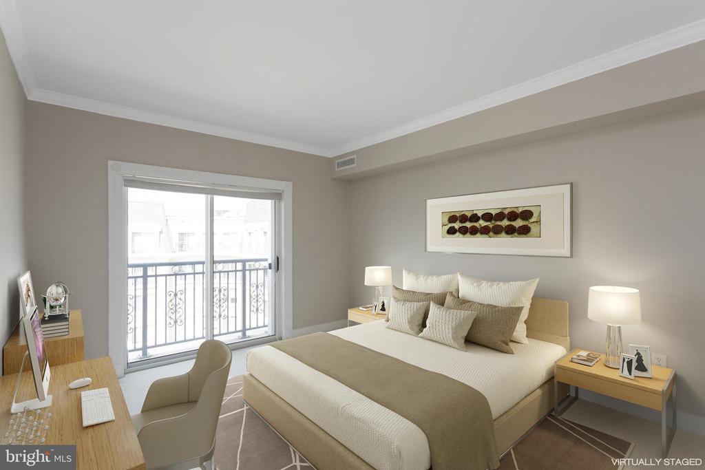 Second Bedroom - 5 PARK PL #704, ANNAPOLIS
