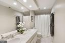 Spa Master Bath with Marble & Double Sinks - 3030 N QUINCY ST, ARLINGTON