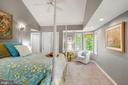 Master Bedroom across rear of home - 3030 N QUINCY ST, ARLINGTON