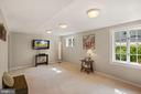 Light & Bright Lower Level Rec Room - 3030 N QUINCY ST, ARLINGTON