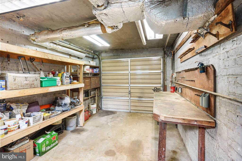 Lower Level workshop from Abandoned Garage - 3030 N QUINCY ST, ARLINGTON