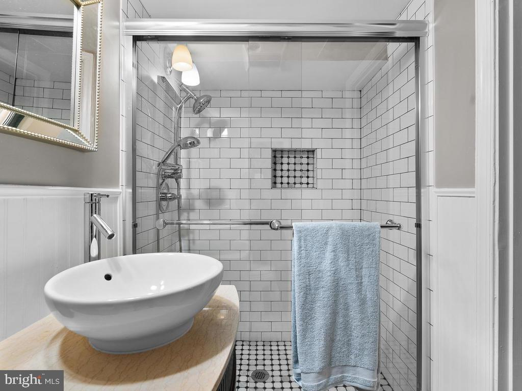 Full Bathroom 4 (basement) - 3054 CEDAR LN, FAIRFAX