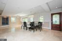 Formal dining for ten guests - 20284 BROAD RUN DR, STERLING