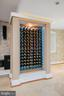 Wine storage for 112 wine bottles - 20284 BROAD RUN DR, STERLING