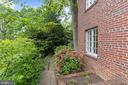 Terraced gardens and walk-way - 3030 N QUINCY ST, ARLINGTON