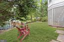 Rear Yard - 3030 N QUINCY ST, ARLINGTON
