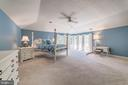 Master Suite with Tray Ceiling - 6507 BURKE WOODS DR, BURKE