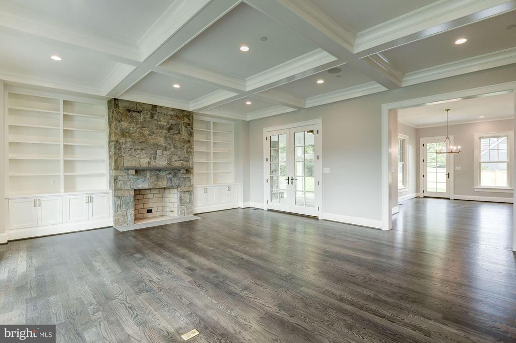 Family Room - 3201 WINNETT RD, CHEVY CHASE
