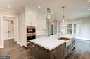 Gourmet Kitchen with Sub-Zero and Wolf Appliances - 3201 WINNETT RD, CHEVY CHASE