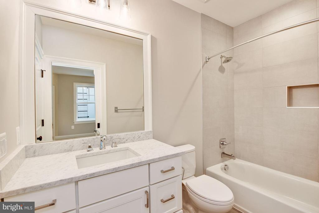 Lower Level Bathroom - 3201 WINNETT RD, CHEVY CHASE