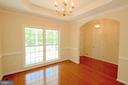 Separate Spacious Dining Room - Arch Doorway - 612 LAKEVIEW PKWY, LOCUST GROVE
