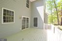 Spacious Deck for Summer relaxing & BBQs - 612 LAKEVIEW PKWY, LOCUST GROVE