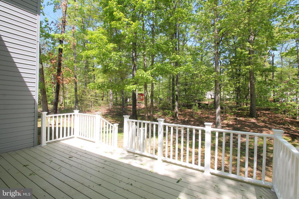 View of Backyard from Deck - 612 LAKEVIEW PKWY, LOCUST GROVE