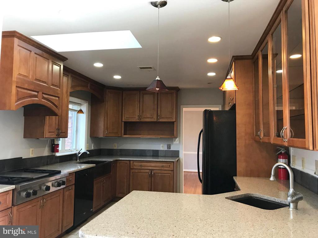 Skylight provides excellent light while cooking - 6218 GLENVIEW CT, ALEXANDRIA
