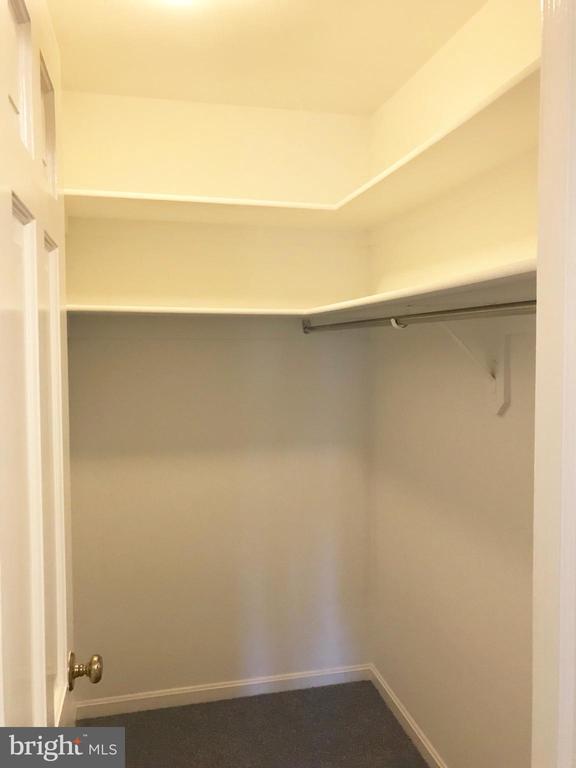 Master walk-in closet - 6218 GLENVIEW CT, ALEXANDRIA