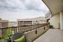 Balcony - 1300 CRYSTAL DR #PH14S, ARLINGTON