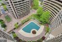 View of Outdoor Pool - 1300 CRYSTAL DR #PH14S, ARLINGTON