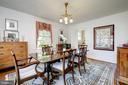 Entertaining Size Dining Room - 3828 GRAMERCY ST NW, WASHINGTON