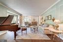 Formal Living Room - 6507 BURKE WOODS DR, BURKE