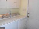 Laundry Room - Washer & Dryer Convey - 10472 LABRADOR LOOP, MANASSAS