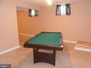 Rec Room - Pool Table Conveys - 10472 LABRADOR LOOP, MANASSAS