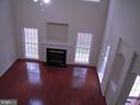 View of Living/Great Room from Upper Level - 612 LAKEVIEW PKWY, LOCUST GROVE