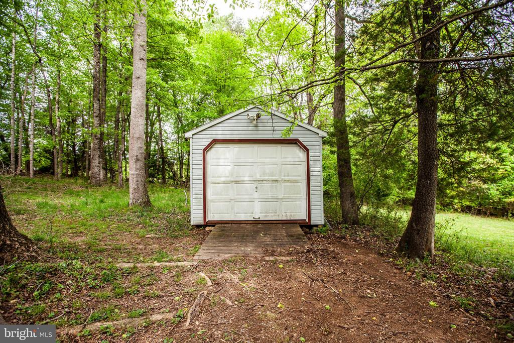 large shed has power  and lights - 9521 RAPIDAN DR, FREDERICKSBURG