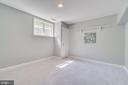 Bedroom on Basement Level - 646 HOLLY CORNER RD, FREDERICKSBURG