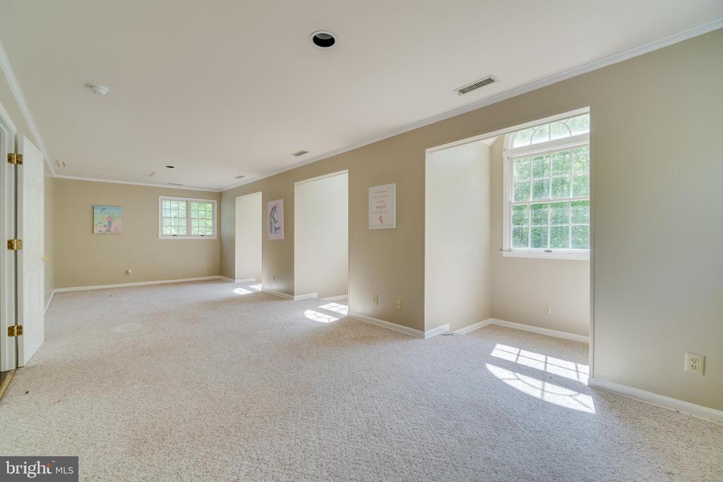 HUGE 4th Bedroom with Large Dormer Windows - 646 HOLLY CORNER RD, FREDERICKSBURG