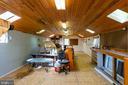 Inside the Workshop Building - 646 HOLLY CORNER RD, FREDERICKSBURG
