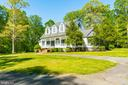 The Circular Driveway adds  southern charm - 646 HOLLY CORNER RD, FREDERICKSBURG