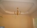 Dining Room - Attractive Tray Ceiling - 612 LAKEVIEW PKWY, LOCUST GROVE