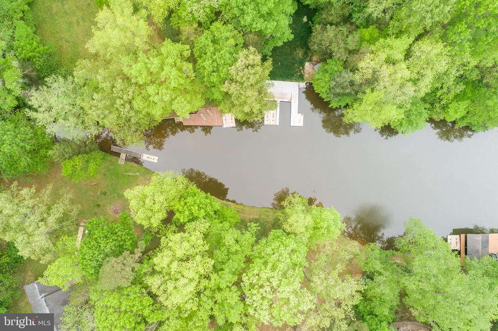 Aerial view of the cove - 6211 BRYN LN, MINERAL