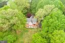 Rear aerial view - 6211 BRYN LN, MINERAL