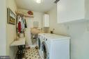 Laundry Room - Main Level; Builtin Ironing Bd! - 12210 GLADE DR, FREDERICKSBURG