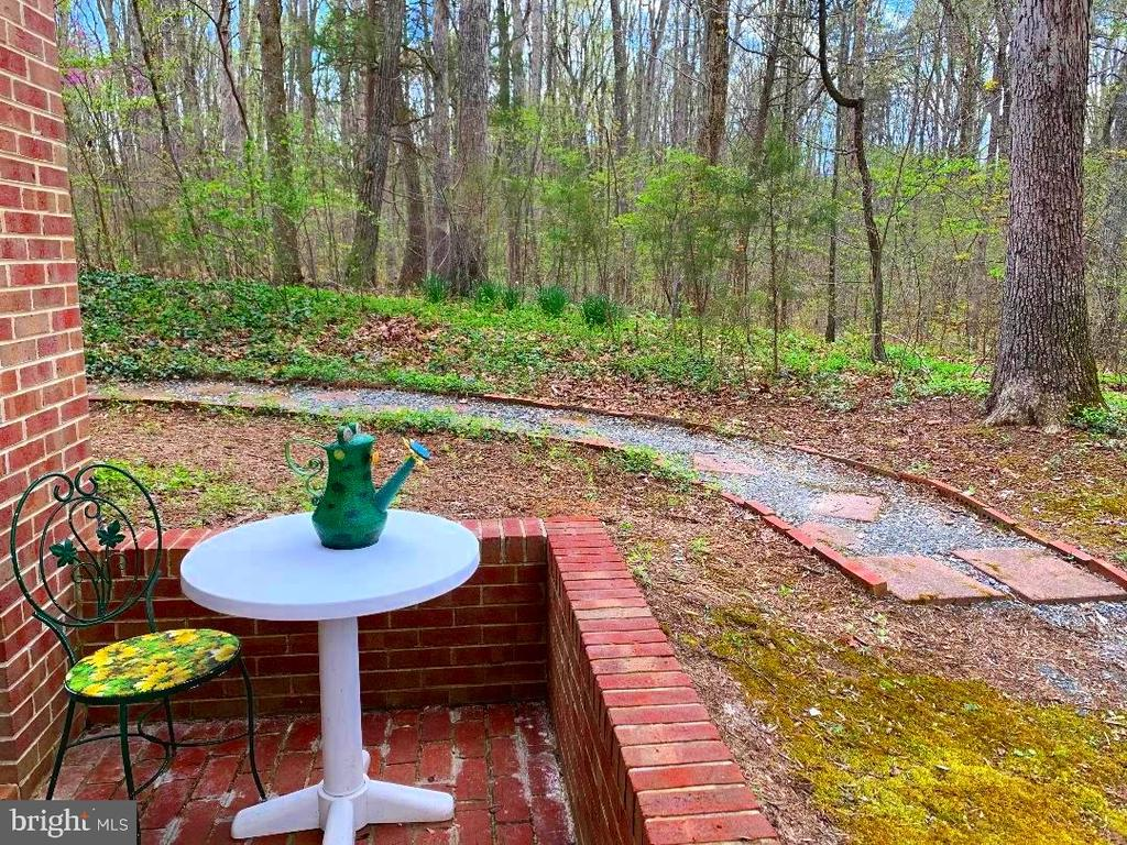 Patio - Private Entrance to In-Laws Suite! - 12210 GLADE DR, FREDERICKSBURG