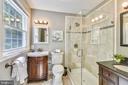 Beatufully Renovated Master Bathroom - 1058 ULMSTEAD CIR, ARNOLD