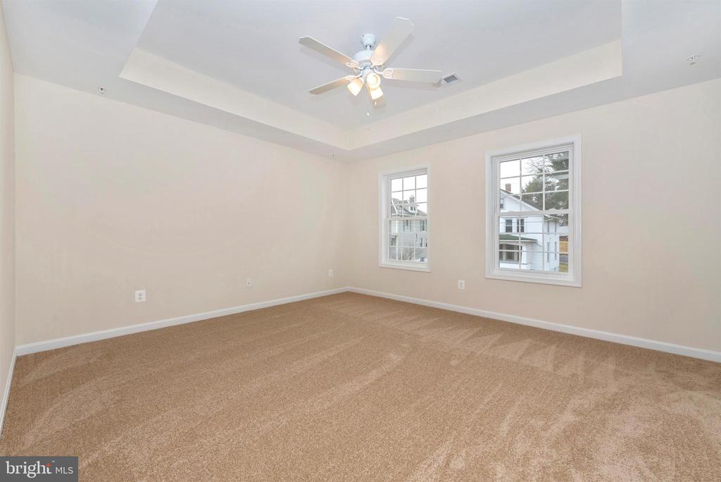 Master Bedroom with Tray Ceiling - 10 E G ST., BRUNSWICK