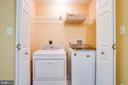 Washer/Dryer Closet - 10001 GRASS MARKET CT, FREDERICKSBURG