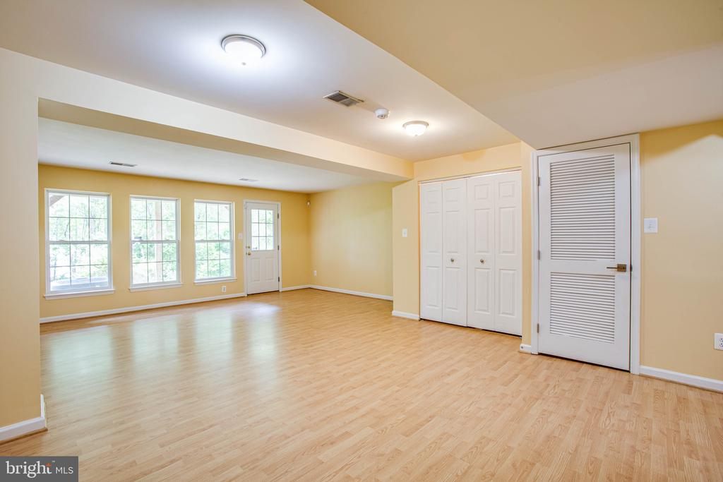 Lower Level Great Room - 10001 GRASS MARKET CT, FREDERICKSBURG