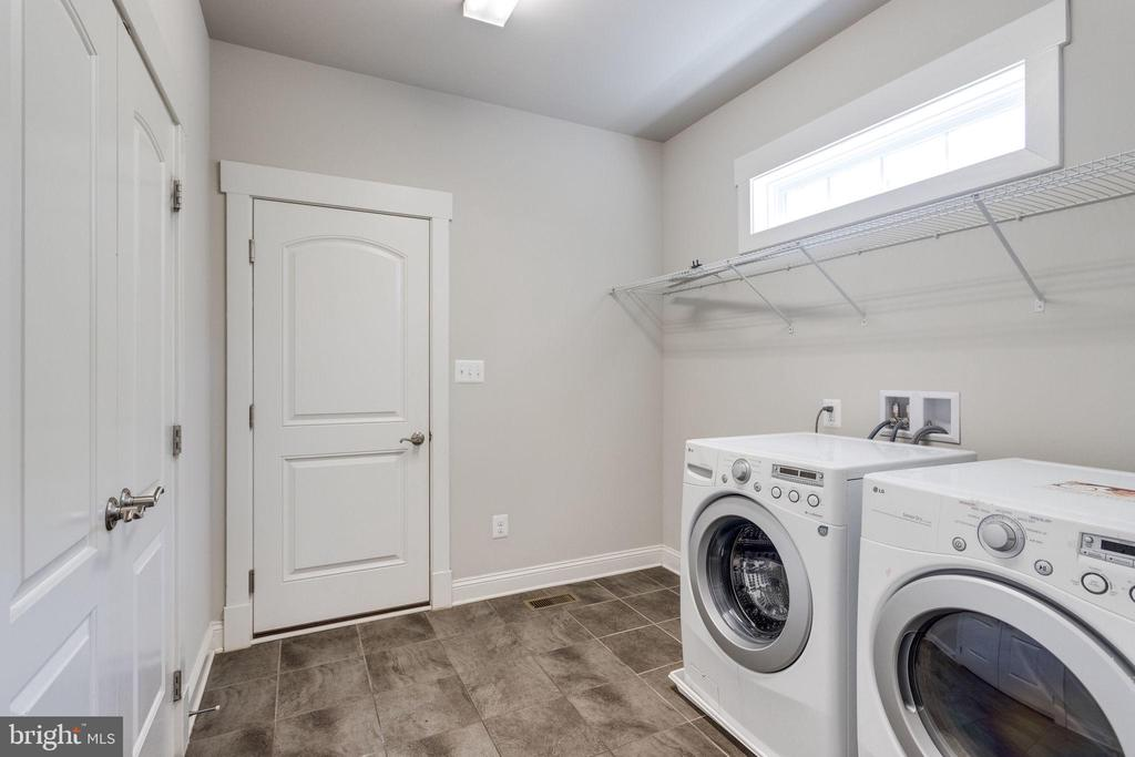 Laundry Room with Big Closet and Storage Space - 2050 ARCH DR, FALLS CHURCH