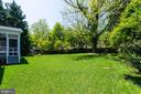 Very Private Backyard - 2050 ARCH DR, FALLS CHURCH