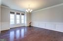 Expansive Dining Room - 2050 ARCH DR, FALLS CHURCH