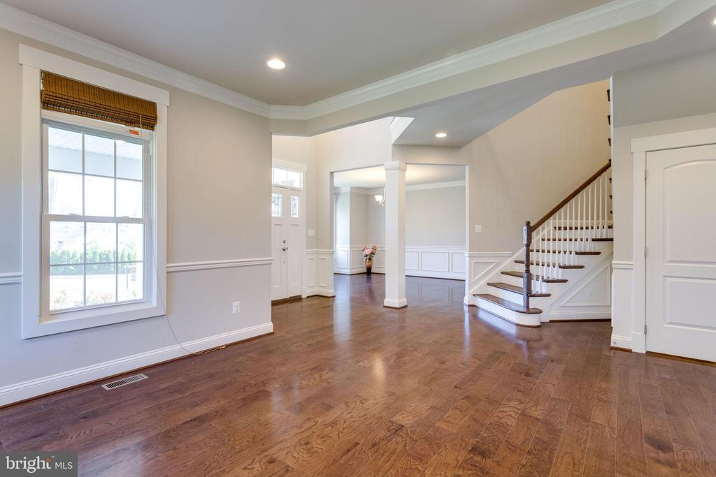 Living Room/ Dining Room/ Staircase - 2050 ARCH DR, FALLS CHURCH