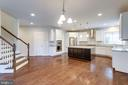 Breakfast area Between kitchen & Family Room - 2050 ARCH DR, FALLS CHURCH