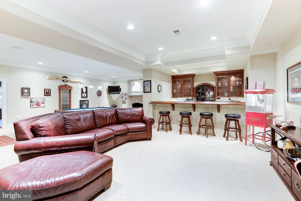 Recreation Room - 8913 GALLANT GREEN DR, MCLEAN