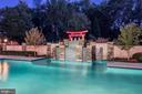 Pool w/ Waterfall Feature - 8913 GALLANT GREEN DR, MCLEAN