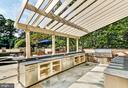 Outdoor Kitchen - 8913 GALLANT GREEN DR, MCLEAN
