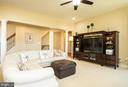 Family Room with 10' ceiling - 42422 CHAMOIS CT, STERLING