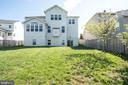 Backyard - 42422 CHAMOIS CT, STERLING